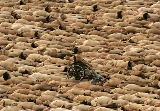 spencer tunick 2007 Mexico