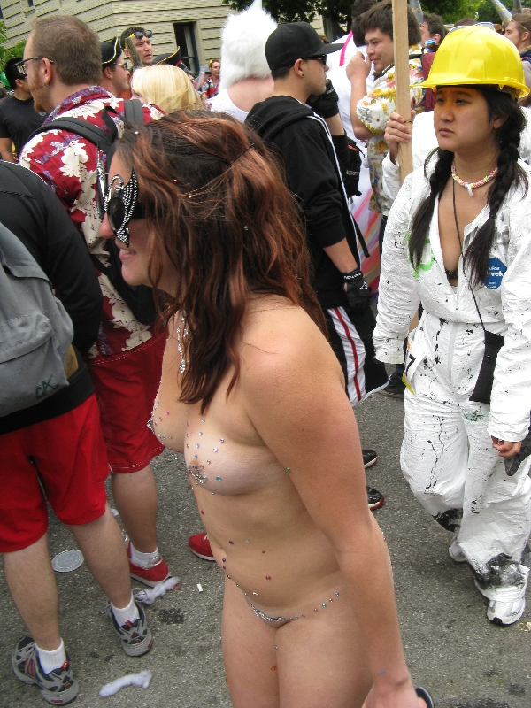 nude naked runners coureurs nus bay to breakers sans francisco (usa) 2010