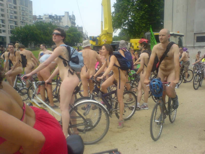 WorldNakedBikeRide WNBR London 2007