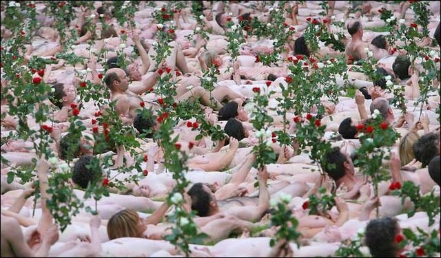 spencer tunick 2008 cork (Ireland)