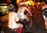 World Naked Bike Ride Cyclonue WNBR Portland USA 2007