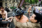 WorldNakedBikeRide WNBR cyclonue ciclonudista 2008 Paris